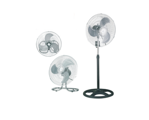 "Goldair 3 In 1 18"" Pedestal High Velocity Floor Fan"