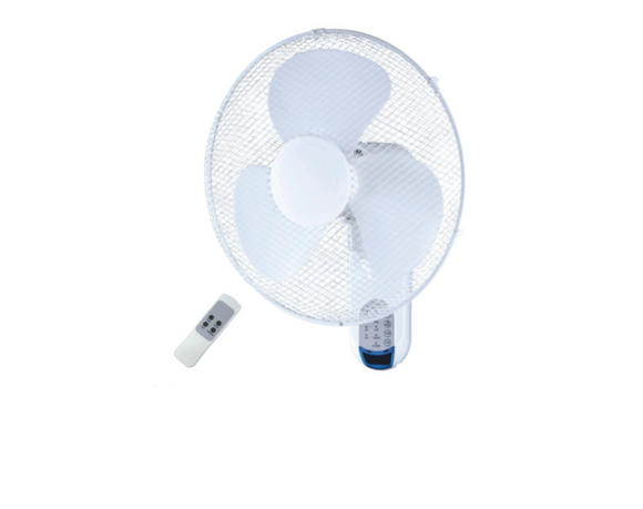 Goldair 40CM Remote Wall Fan