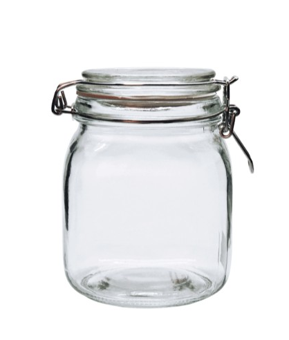 PICKLE CLIP TOP JAR 1 L