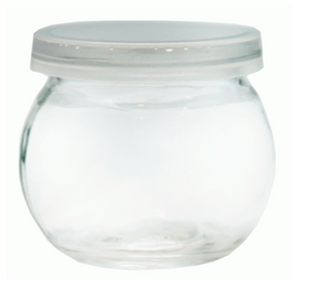 6 PACK SPICE JAR WITH PLASTIC SNAP OP LID 160 ML