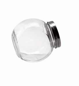 MINIATURE SLANTED JAR 5 X 4CM (50ML)