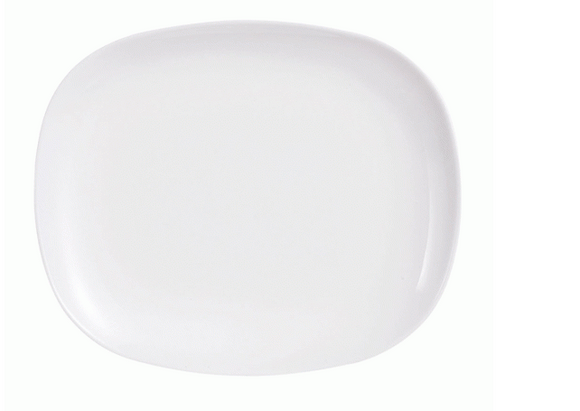 SWEET LINE WHITE SIDE PLATE 21 CM (Set of 12)