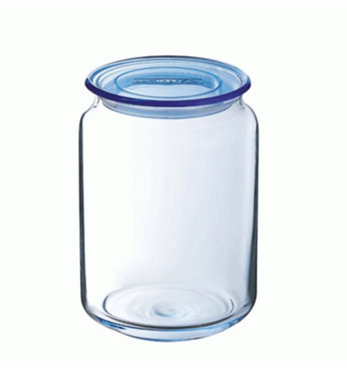 RONDO ICE BLUE JAR & LID 750 ML