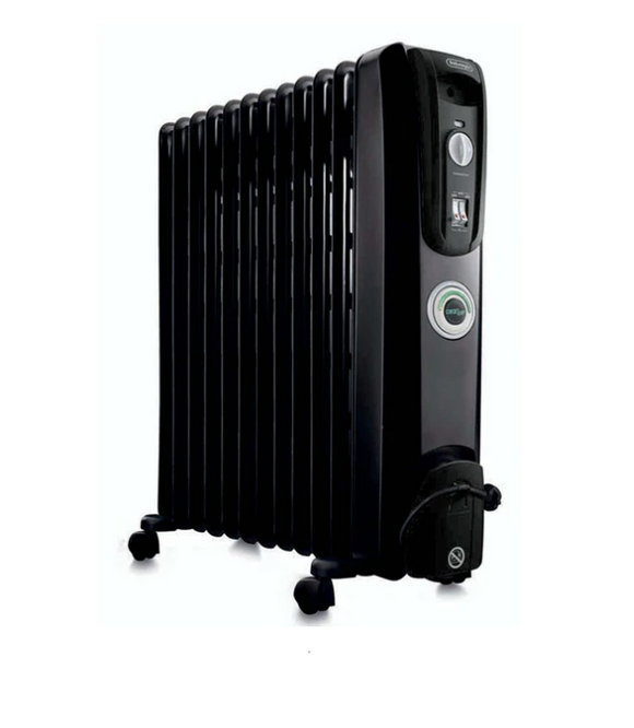 DELONGHI 9 Fin Oil Heater Black