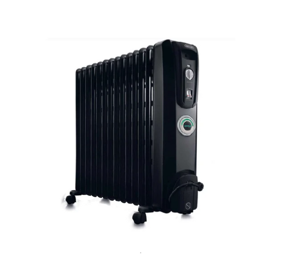 DELONGHI 14 Fin Oil Heater Black