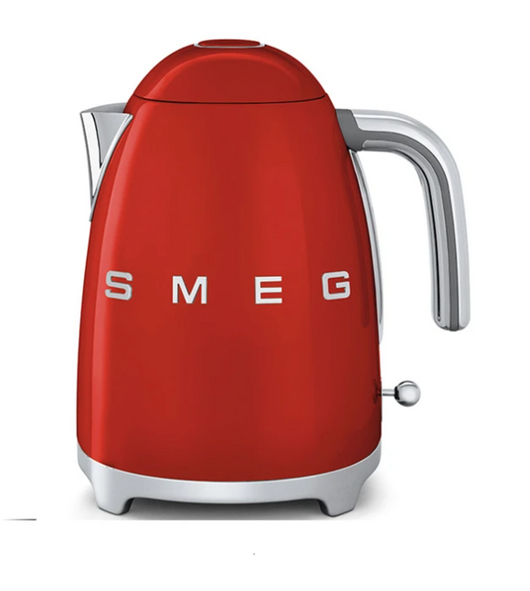 SMEG 1,7L Retro Electric Kettle Fiery Red - KLF03RDSA