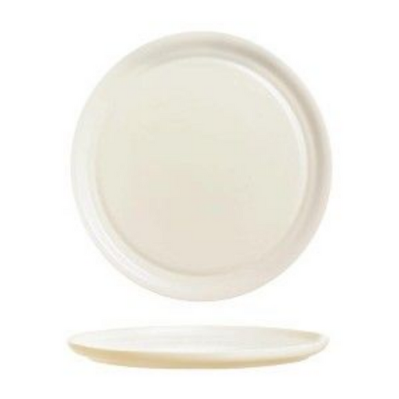 Dinner Plate | ARC Intensity Bone Pizza Plate 33cm (Set of 6)