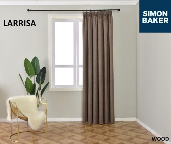 Simon Baker | Larissa Tape Wood Curtain (Various Sizes)