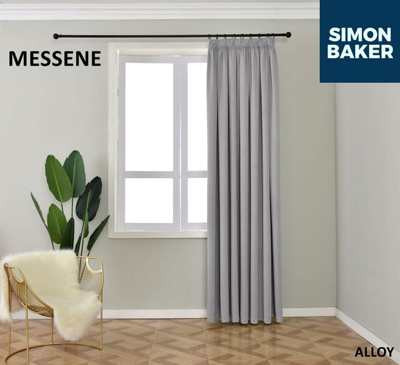 Simon Baker | Messene Tape Alloy Curtain (Various Sizes)