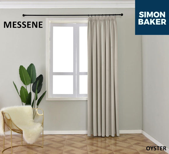 Simon Baker | Messene Tape Oyster Curtain (Various Sizes)