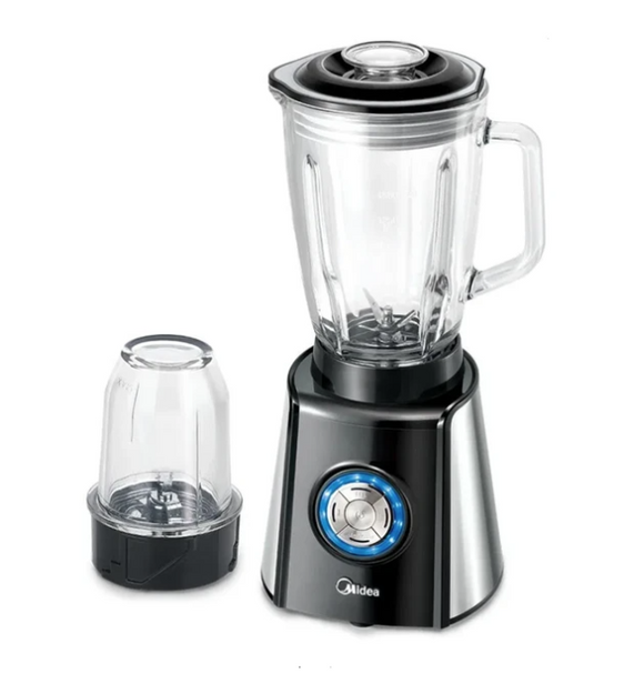 MIDEA 1,5L Pro Glass Jug Blender Black