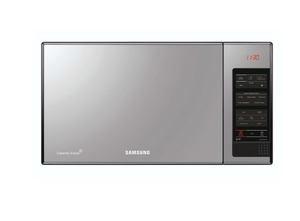 SAMSUNG 40L Solo Microwave Oven With Black Glass Mirror