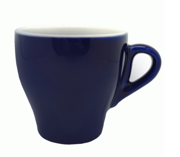 Style Cup | NOVA STYLE CAPPUCCINO Blue CUP 260 ML (Set of 6)