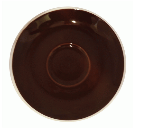 Style Saucer | NOVA STYLE Brown SAUCER 12CM - FOR 70ML CUP (Set of 6)