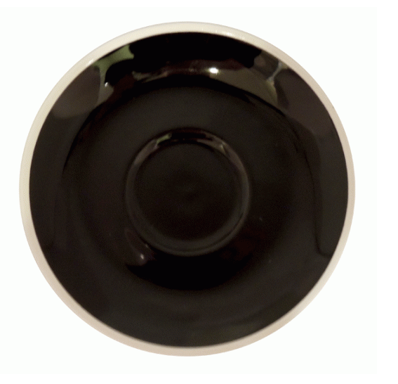 Style Saucer | NOVA STYLE Black SAUCER 14CM - FOR 260ML CUP (Set of 6)