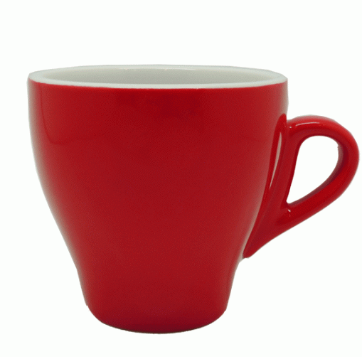 Style Cup | NOVA STYLE CAPPUCCINO RED CUP 260 ML (Set of 6)