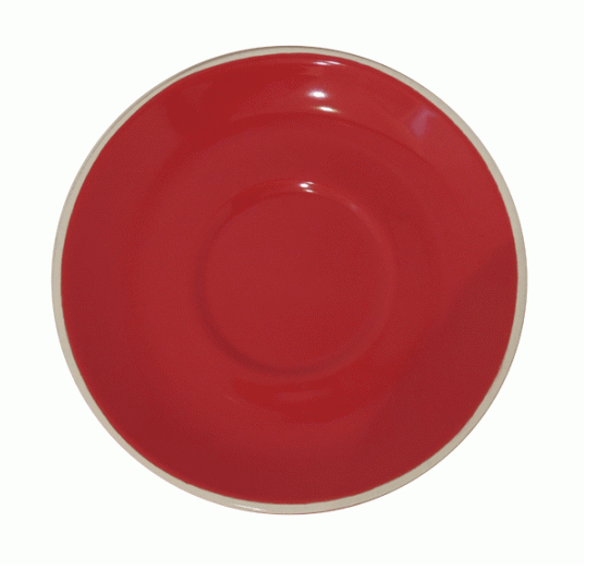 Style Saucer | NOVA STYLE Red SAUCER 12CM - FOR 70ML CUP (Set of 6)