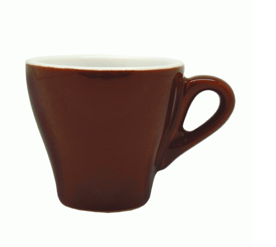 Style Cup | NOVA STYLE CAPPUCCINO Brown CUP 260 ML (Set of 6)