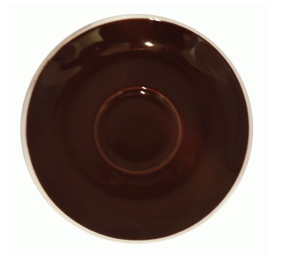 Style Saucer | NOVA STYLE Brown SAUCER 14CM - FOR 260ML CUP (Set of 6)