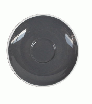 Style Saucer | NOVA STYLE Grey SAUCER 12CM - FOR 70ML CUP (Set of 6)