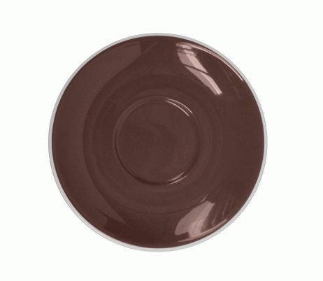 Style Saucer | NOVA STYLE Brown SAUCER 15CM - FOR 300ML CUP (Set of 6)