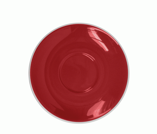 Style Saucer | NOVA STYLE Red SAUCER 15CM - FOR 300ML CUP (Set of 6)