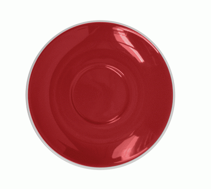 Style Saucer | NOVA Red STYLE SAUCER 14CM - FOR 160ML CUP (Set of 6)