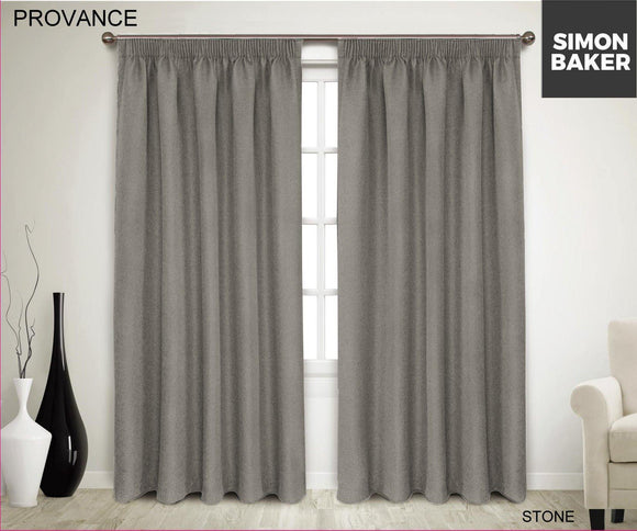 Simon Baker | Provance Tape Curtain Stone (Various Sizes)