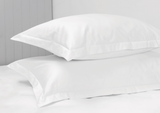 300 Thread Count White Standard Pillow Case Set
