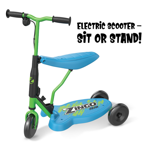 Zingo Grom Electric Push Scooter