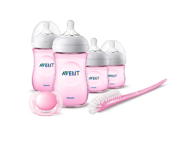 Philips AVENT Natural Newborn Starter Set 2.0 - Limited Edition Pinka