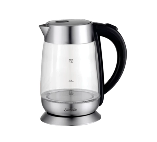 Sunbeam 1.8L Glass Cordless Kettle