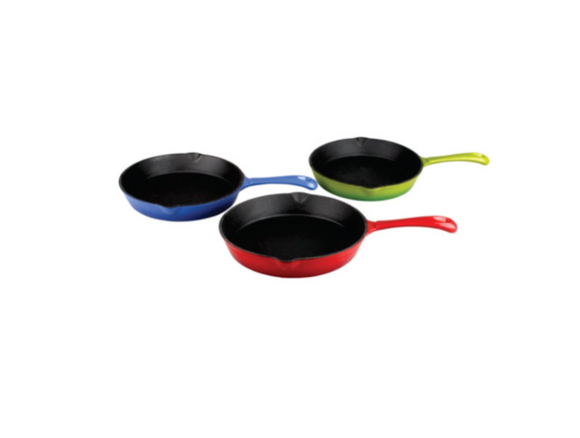 Gourmand Round Cast Iron Pan Skillet
