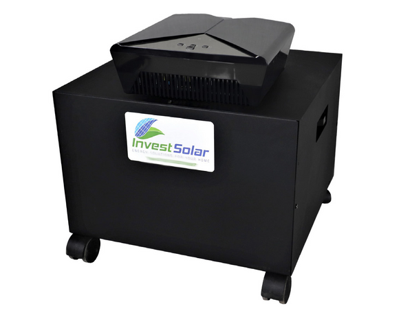 Power Inverter/Ups System With  Built-In Solar Capability - 1600w, 24v