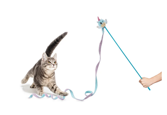 Cat Toy | Unicorn Lure Teaser Wand