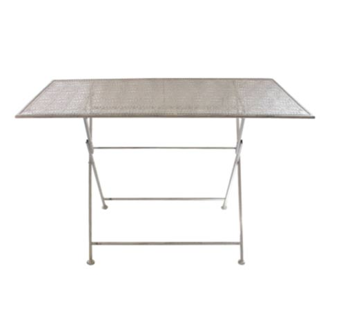 Garden | RECT DAISY TABLE GREY WASHED