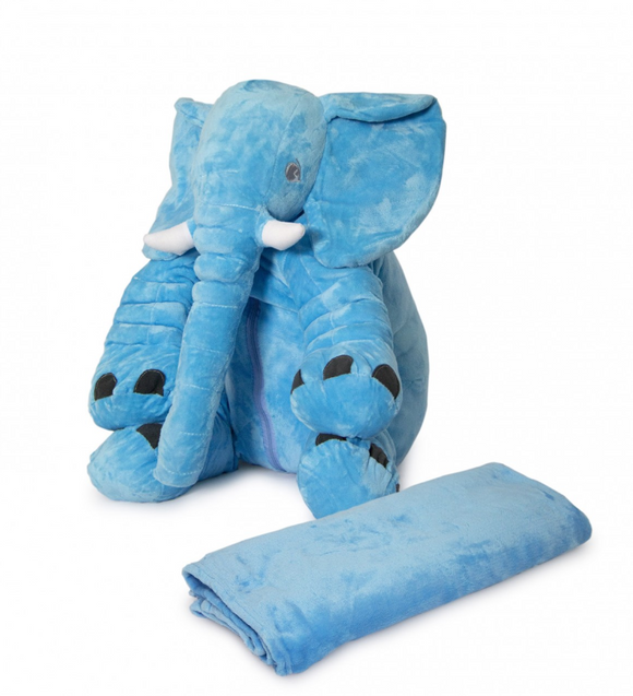 Nuovo - Ellie Baby Pillow with Blanket - Blue