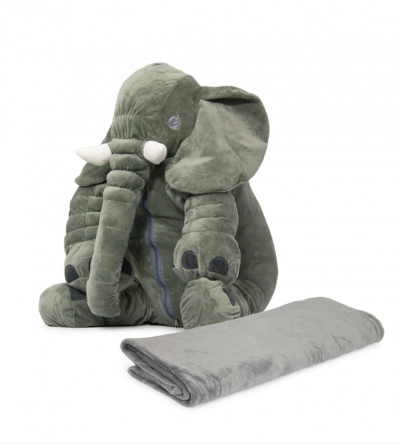 Nuovo - Ellie Baby Pillow with Blanket - Grey