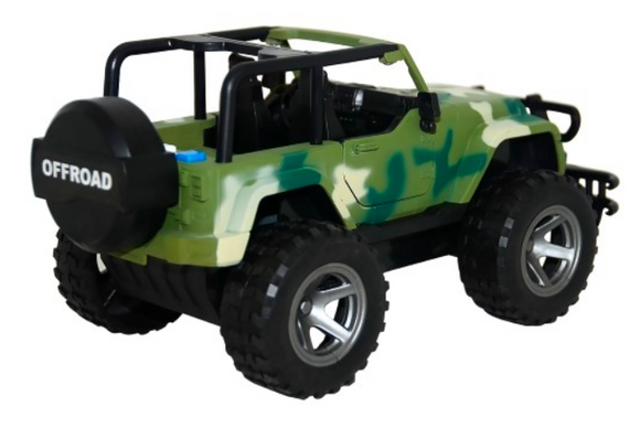Kids Playtime | OFF-ROAD CAMOUFLAGE JEEP With SOUND & LIGHT
