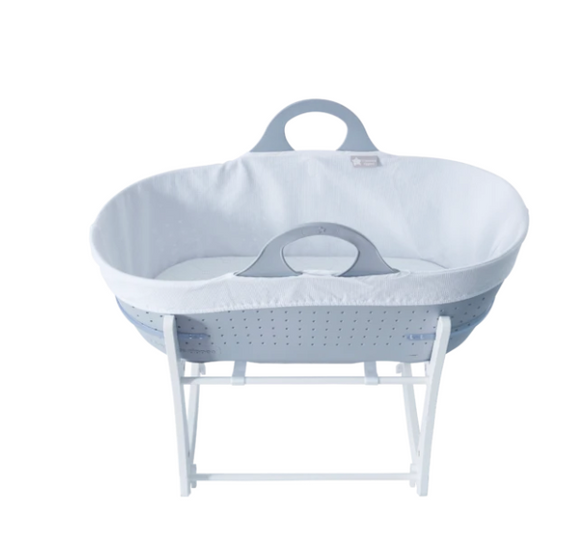 Tommee Tippee Sleepee Basket with Stand - Classic Grey