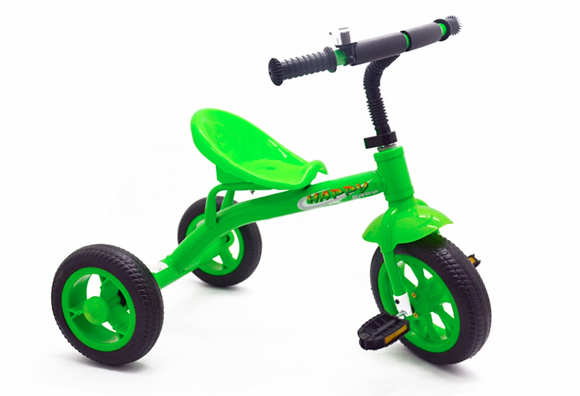 Kids Playtime | TRICYCLE GREEN WITH BELL