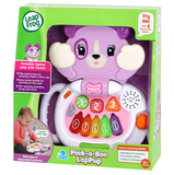 Kids Educational Toy | LeapFrog Peek-A-Boo LapPup - Violet