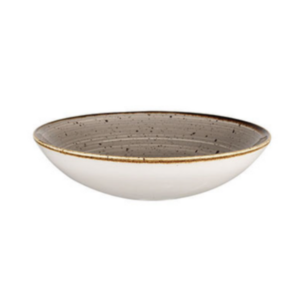 Churchill Peppercorn Grey – Coupe Bowl - Set of 12 (Various Sizes)