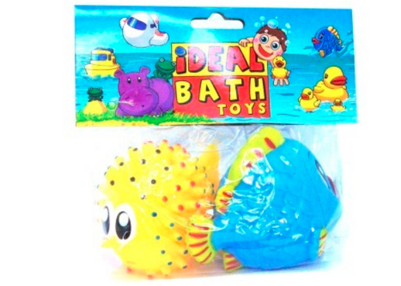 Baby Toys | SQUEAKY TOYS FISH SET 2 Piece