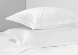 1000 Thread Count White Standard Pillow Case Set