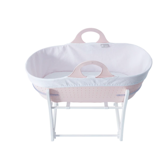 Tommee Tippee Sleepee Basket with Stand - Gentle Pink
