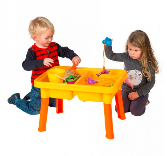 Kids Playtime | Jeronimo - Double Play Sand & Water Table