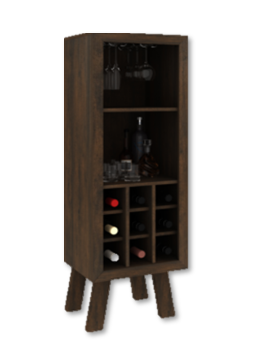 Wine Rack Rustic