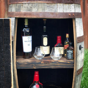 Bourbon Barrel Speakeasy Cabinet