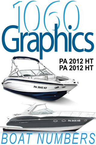1060 Graphics Boat Registration Numbers